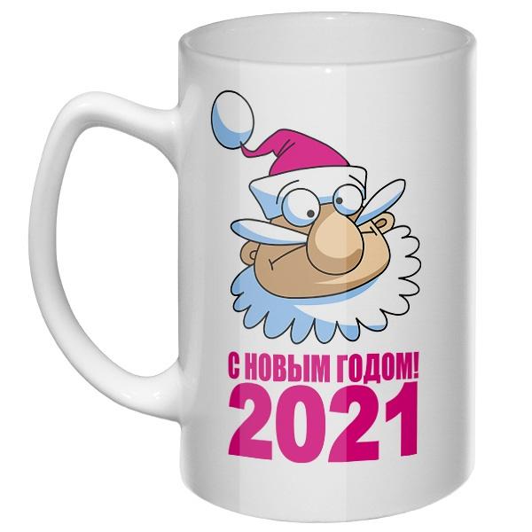 Большая кружка С Новым годом 2021
