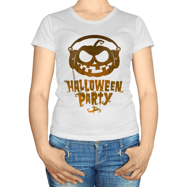 Женская футболка Halloween Party