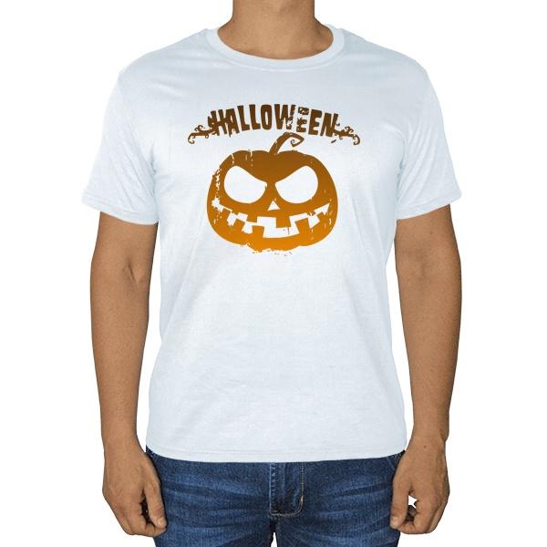 Halloween, белая футболка