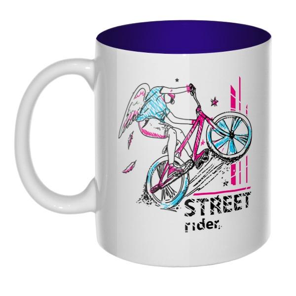 Street Rider, кружка цветная внутри
