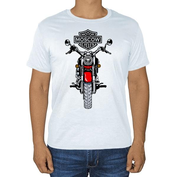 Moscow Motor Cycles, белая футболка