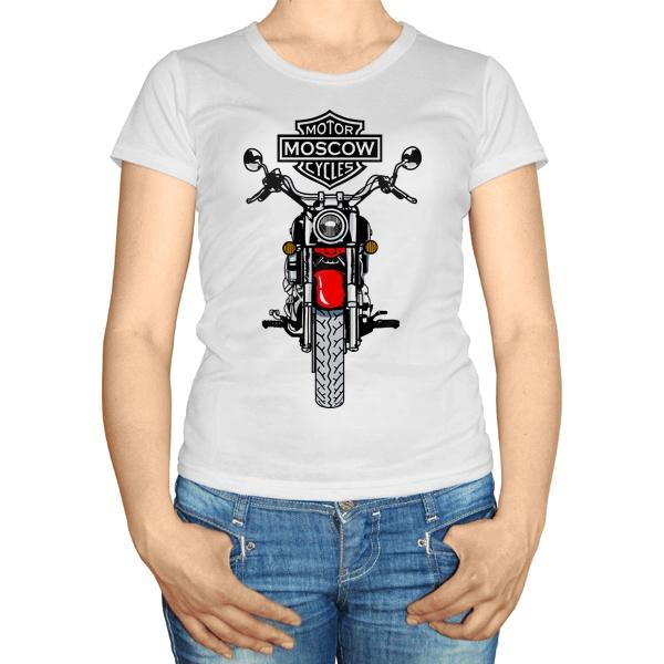 Женская футболка Moscow Motor Cycles