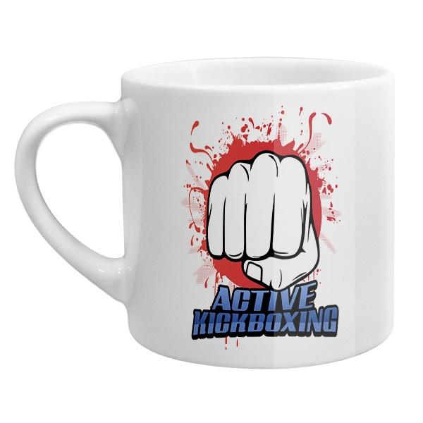 Кофейная чашка Кикбоксинг