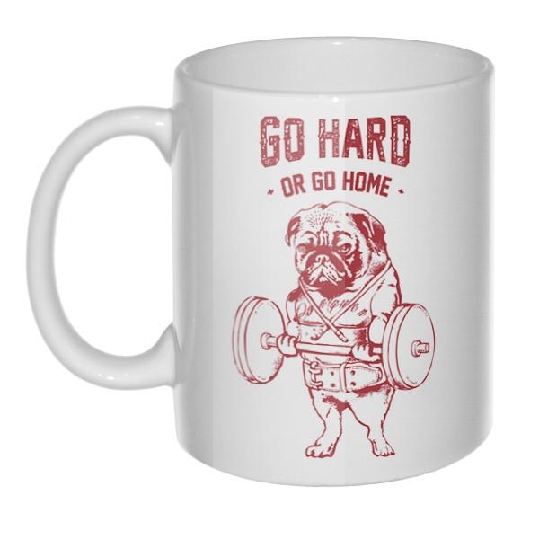 Кружка Go hard or go home