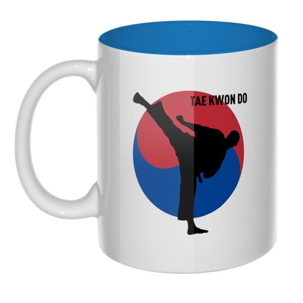 Tae kwon do, кружка цветная внутри