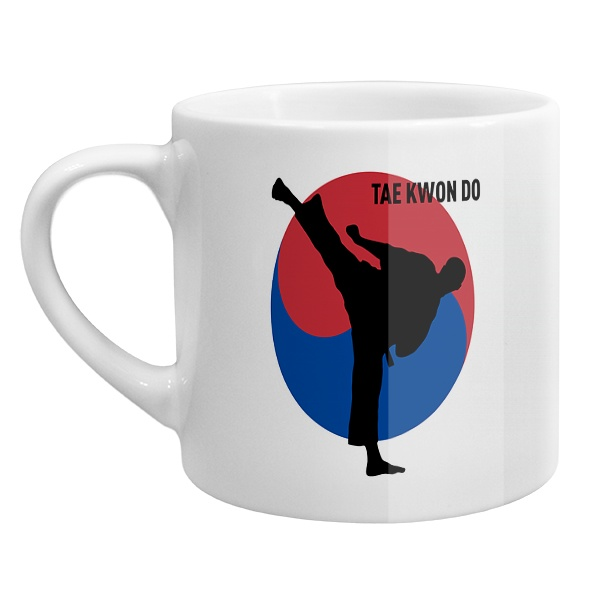 Кофейная чашка Tae kwon do