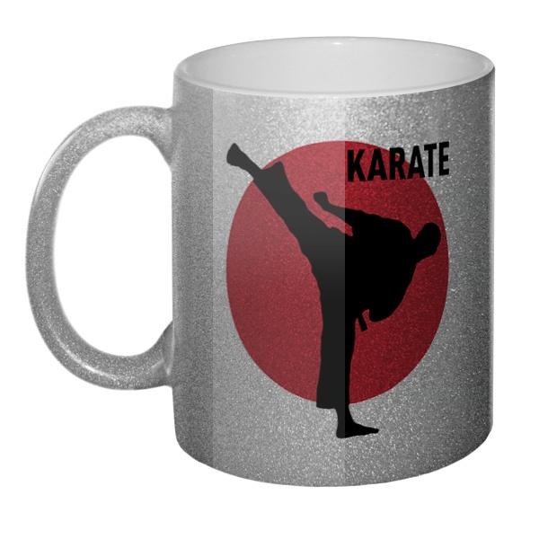 Кружка блестящая Karate