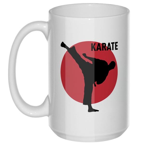 Karate, большая кружка с круглой ручкой