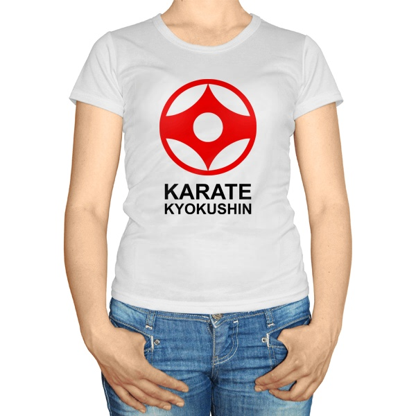 Женская футболка Символ канку