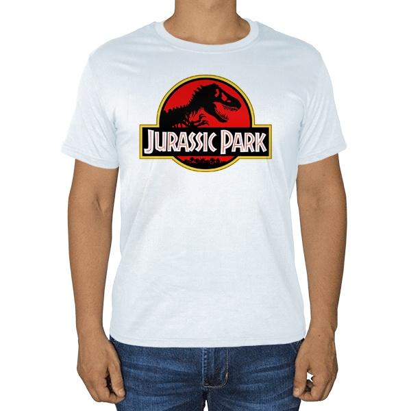 Белая футболка Jurassic Park
