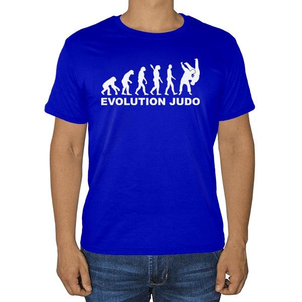 Футболка Эволюция Дзюдо