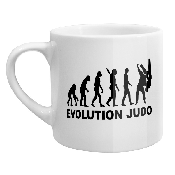 Кофейная чашка Эволюция Дзюдо
