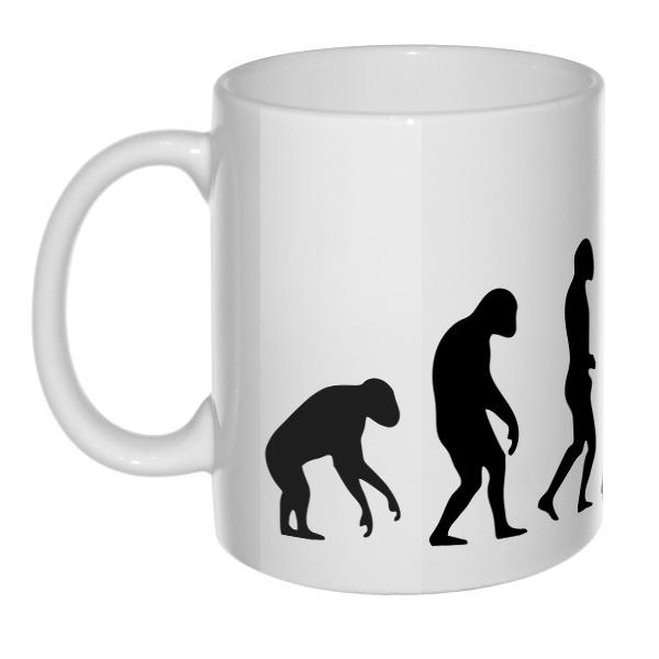 Эволюция бокса, 3D-кружка