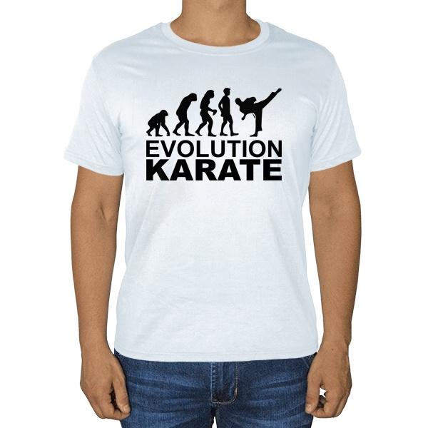 Эволюция карате, белая футболка