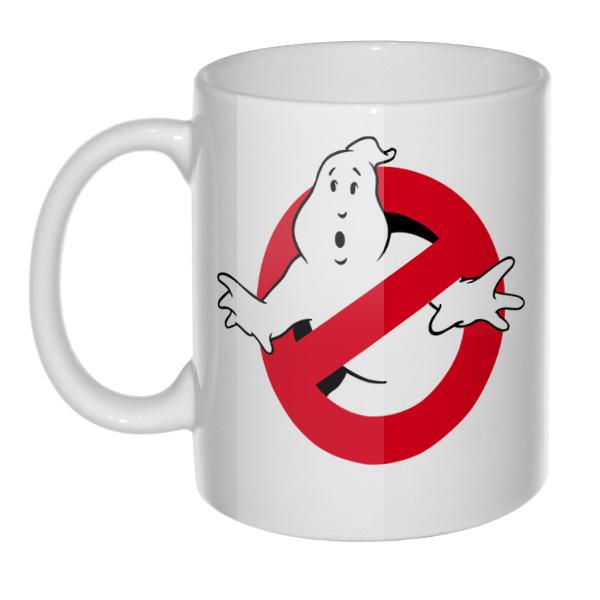 Кружка Ghostbusters (Охотники за привидениями), цвет белый