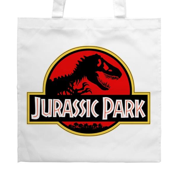 Белая сумка Jurassic Park, цвет белый
