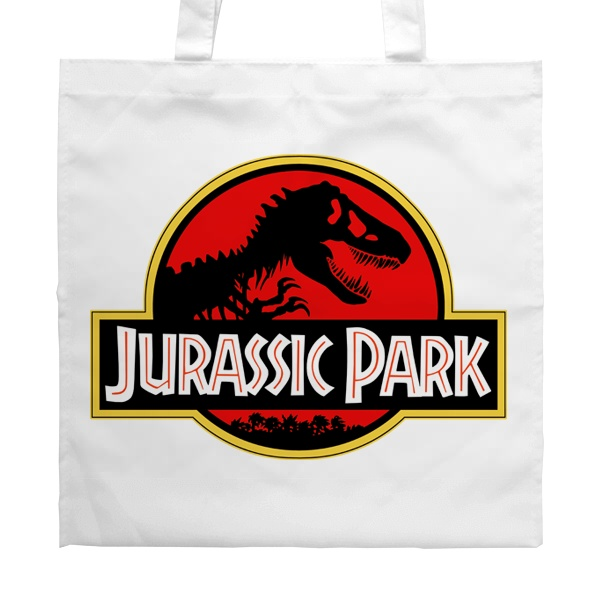 Белая сумка Jurassic Park