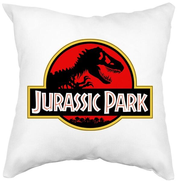 Подушка белая Jurassic Park