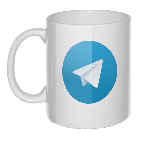 Кружка Логотип Telegram