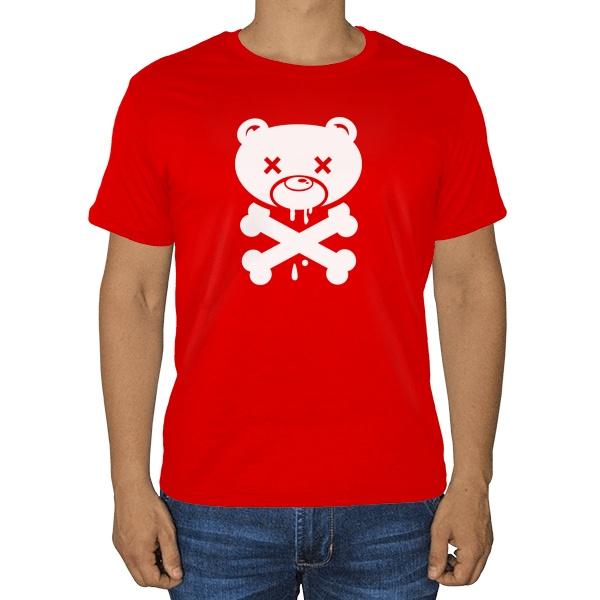 Футболка Медведь-пират
