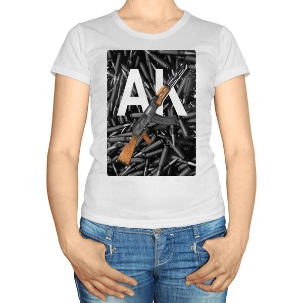 Женская футболка АК