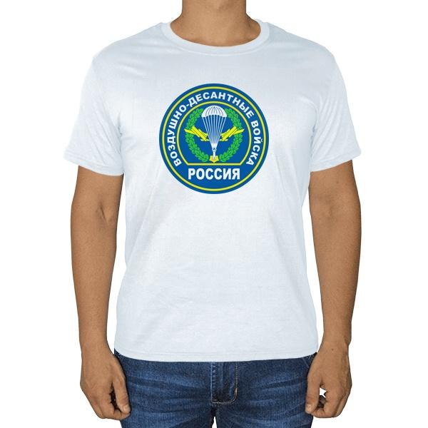 Воздушно-десантные войска, белая футболка