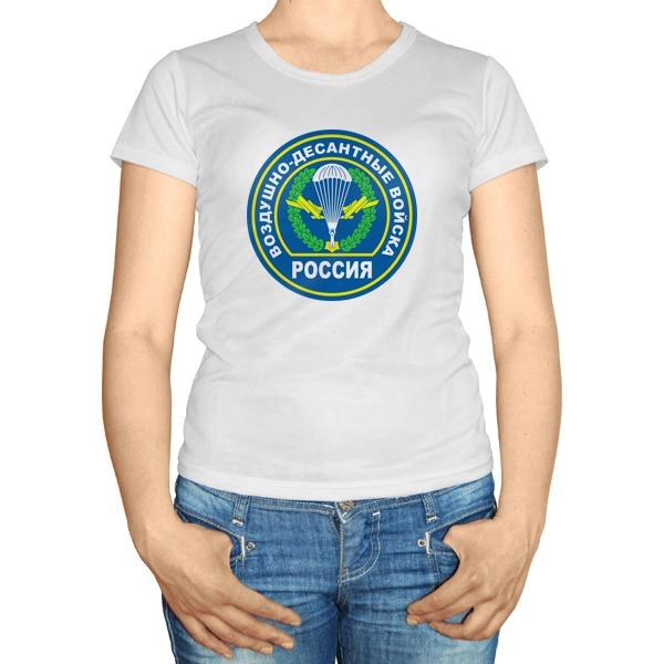 Женская футболка Воздушно-десантные войска