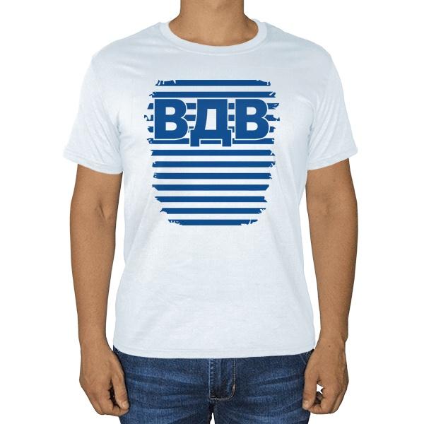 ВДВ, белая футболка