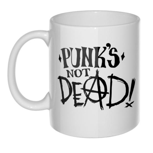 Кружка Punk's not dead