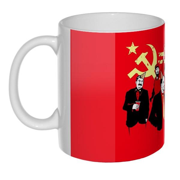 Communism party, 3D-кружка