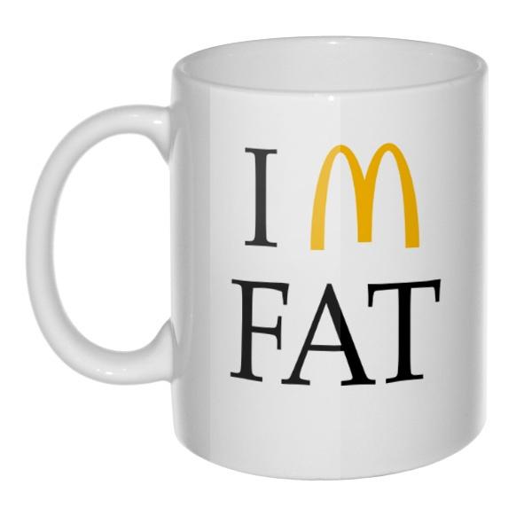 Кружка I am fat