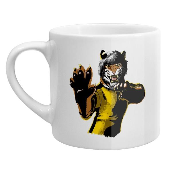 Кофейная чашка Тигр-боец