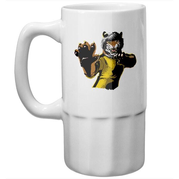Пивная кружка Тигр-боец