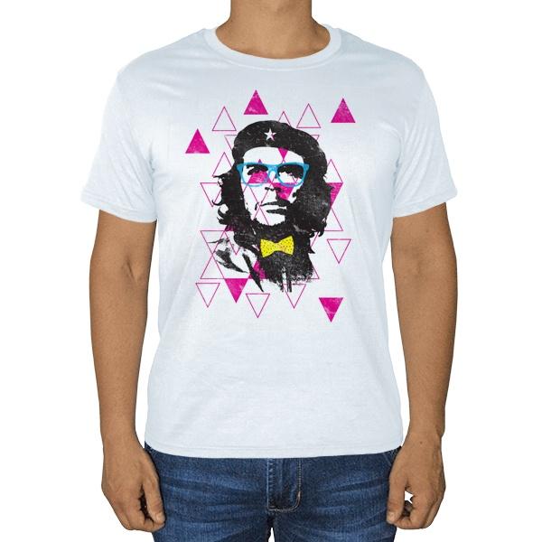 Модный Че Гевара, белая футболка
