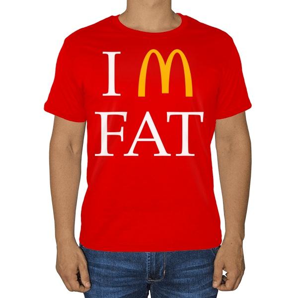 Футболка I am fat