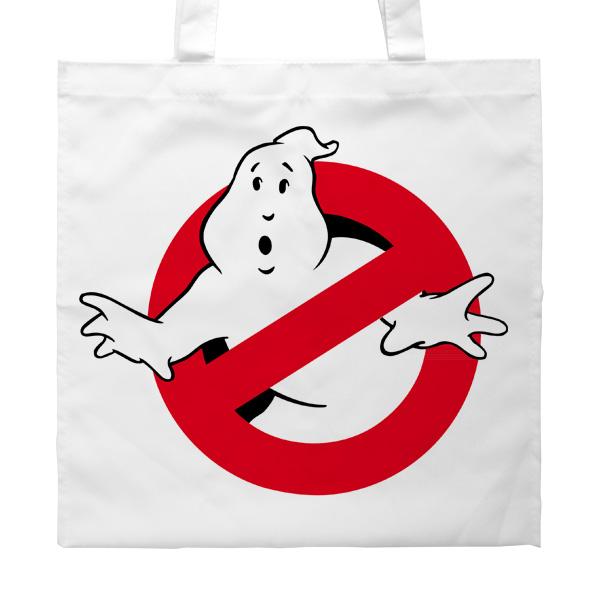 Сумка Ghostbusters (Охотники за привидениями), цвет белый