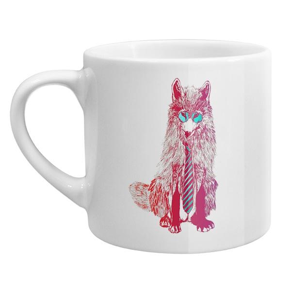 Кофейная чашка Модный лис