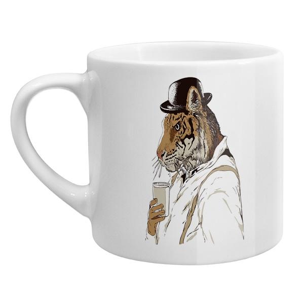 Кофейная чашка Тигр-человек