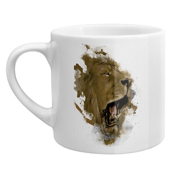 Кофейная чашка Лев