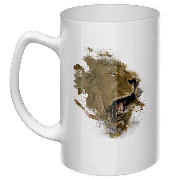 Большая кружка Лев