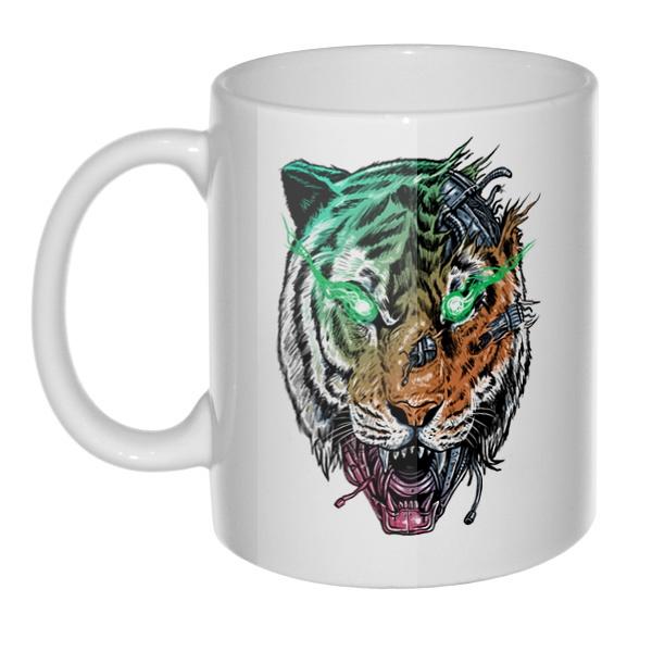 Кружка Тигр-киборг