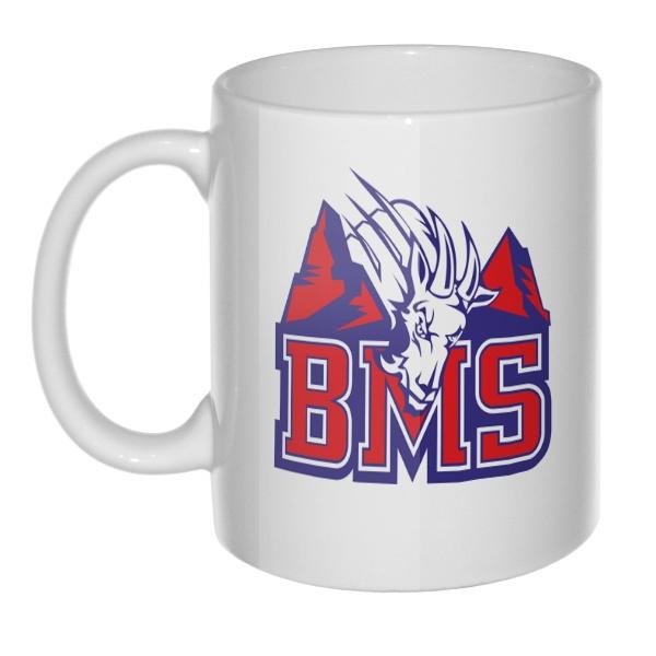 Кружка BMS (Реальные парни), цвет белый