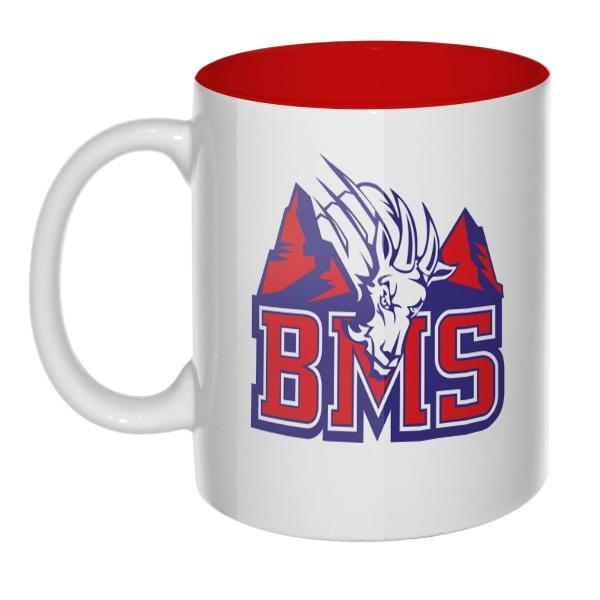 Кружка цветная внутри BMS (Реальные парни)