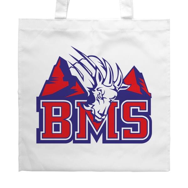 Белая сумка BMS (Реальные парни)