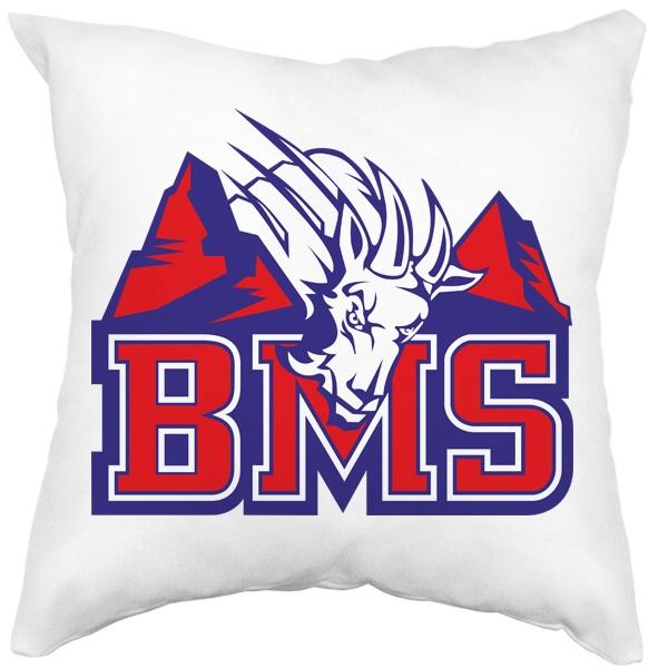 Подушка BMS (Реальные парни), цвет белый