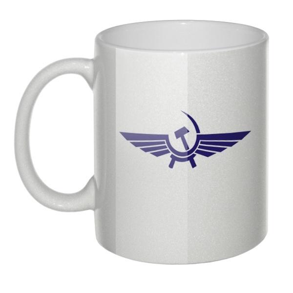 Перламутровая кружка Аэрофлот СССР