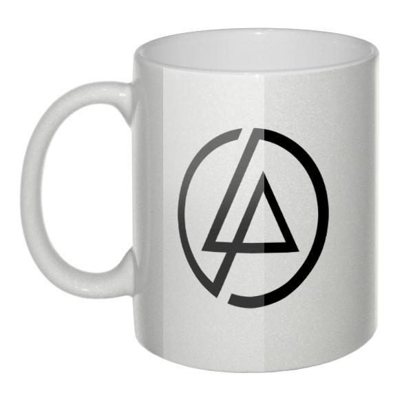 Перламутровая кружка Linkin Park