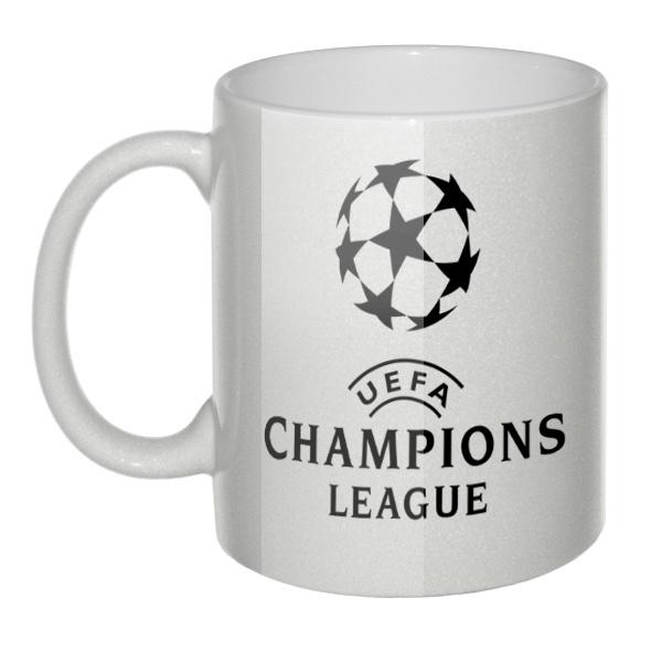Перламутровая кружка Лига чемпионов УЕФА