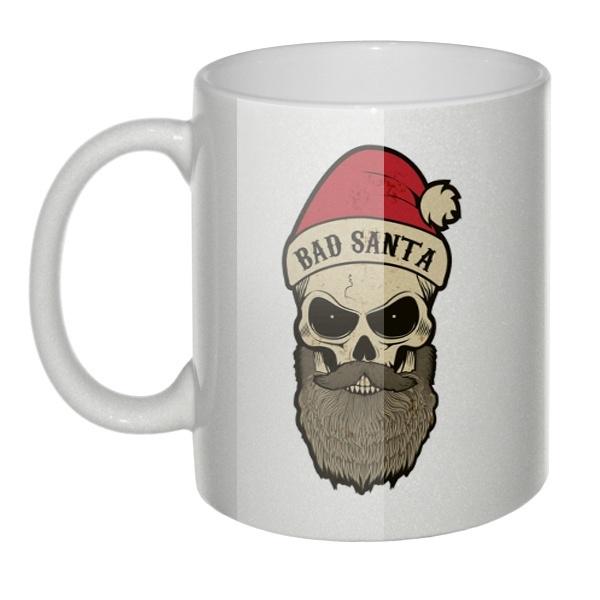 Перламутровая кружка Bad Santa (Плохой Санта)
