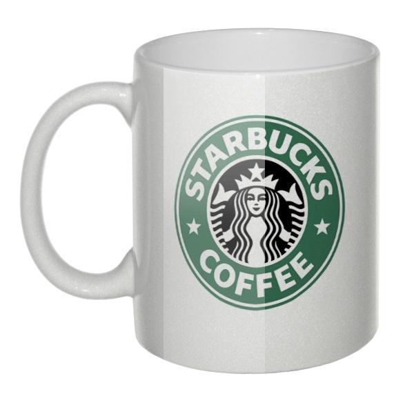 Перламутровая кружка Starbucks (Старбакс)